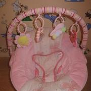 Кресло качалка Bright Starts для девочки