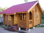 Строительство деревянной бани в Одессе ВЫГОДНО!!!