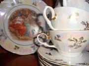 Фарфоровый чайный сервиз Мадонны