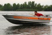 продам лодку Wellboat 36 с моторомYamaha E 8 CMHS