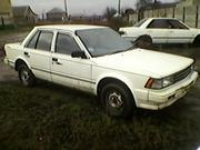 Nissan Blubirg 1987г. по запчастям!