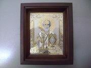 продам иконы ручной работы в драг металлах.