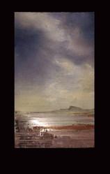Картина маслом (пейзаж) Куяльник