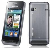 Samsung Wave723,  металлический корпус