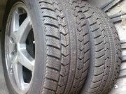 зимние шины на дисках R15 б/у