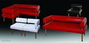 мягкий диван и кресло Тетра,   для холлов и гостинных,  диван модульный,  диван для дома,  баров,  кафе,  ресторанов,  для офисов