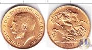 Продам золотую монету Великобритании 1 соверен 1911 г