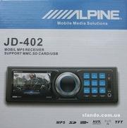 Магнитола Alpine JD 402 с 2.8 ЖК дисплеем