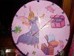 Детские супер-часы декупаж