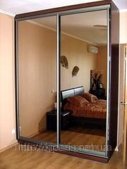 шкаф-купе зеркальный
