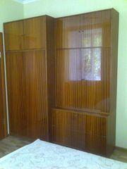 шкаф с антресолью и шкаф для белья