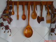 Украшение интерьера кухни в Украинском стиле