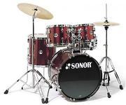 Барабаны Sonor F 507 Stage 1 (Wine Red)