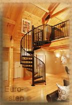 Винтовая лестница под заказ,  лестница для дома,  металлическая лестница