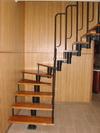 Модульная лестница под заказ, лестница для дома,  металлическая лестница