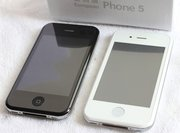 iPhone 5G  2Sim+Wi-Fi+TV c9000