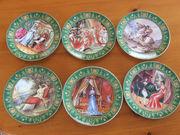 Тарелки Limoges из серии Наполеон и Жозефина