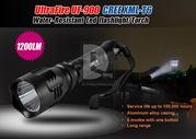 Фонарь светодиодный (дальнобойный) UltraFire UF-900 1200Lm