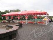 Изготовление шатров,  палаток,  навесов