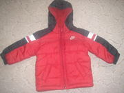 Куртка теплая осенняя Nike на мальчика
