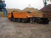 Песок в Одессе, речной, карьерный с доставкой