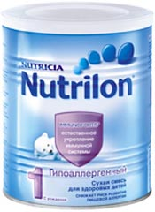 Нутрилон заменитель грудного молока в ассортименте
