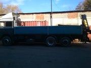 Предлагаю услуги грузовика IVECO с краном-манипулятором