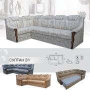 Мягкий раскладной Угловой диван Султан 3 1 вика