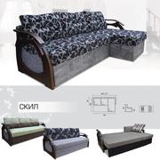 Мягкий раскладной Угловой диван Скил вика