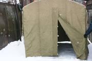 Полевая палатка каркасная