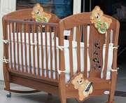 Детская кроватка Baby Italia Doremi (Беби Италия)+МАТРАС+БЕЛЬЕ