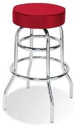 Стул высокий RETRO chrome,  стулья для барных стоек,  стулья для кафе,  б