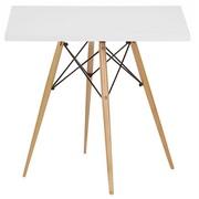 Обеденный стол Тауэр Вуд,  цвет белый