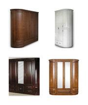 Шкафы деревянные платяные