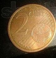 Продам монету 2 цента 2008 года Германия