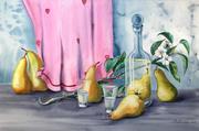 Грушевая вечеринка - картина