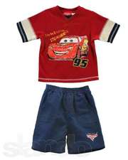 Классный костюм для мальчиков 2-3 лет McQueen (футболка и шорты)