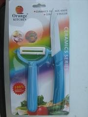 Керамический нож плюс овощечистка