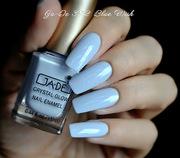 Лак для ногтей № 392 небесно-голубой JA-DE