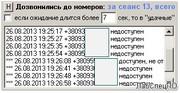 Программа обзвона номеров стартовых пакетов для дилеров симкарт