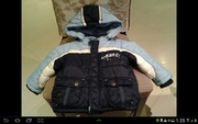 Продам б/у куртку детскую с комбинезоном р. 80 см