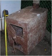 Печка-буржуйка для дачи,  гаража