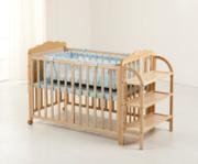 Детская кроватка HappyDinо в отл. состоянии приятного салатового цвета