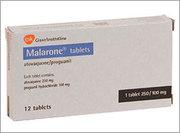Malarone 250 mg/100 mg 800грн