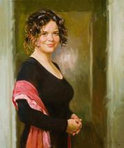 Заказ портрета в пейзаже,  заказ портрета в живописи ОДЕССА