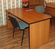 Стол офисный с навесной тумбой