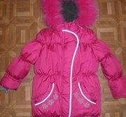 Новая Зимняя Куртка на 4-6лет,  104-116р