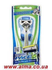 Бритвенная система Dorco Pace6 Plus купить в розницу и оптом