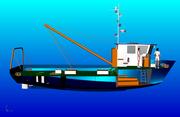 Рыбопромысловое судно - новый проект недорогой ! Поставка 4 месяца !