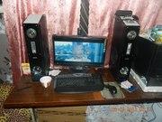 мощный 4-х ядерный  ПК ASUS ,  монитор,  вебкамера,  колонки